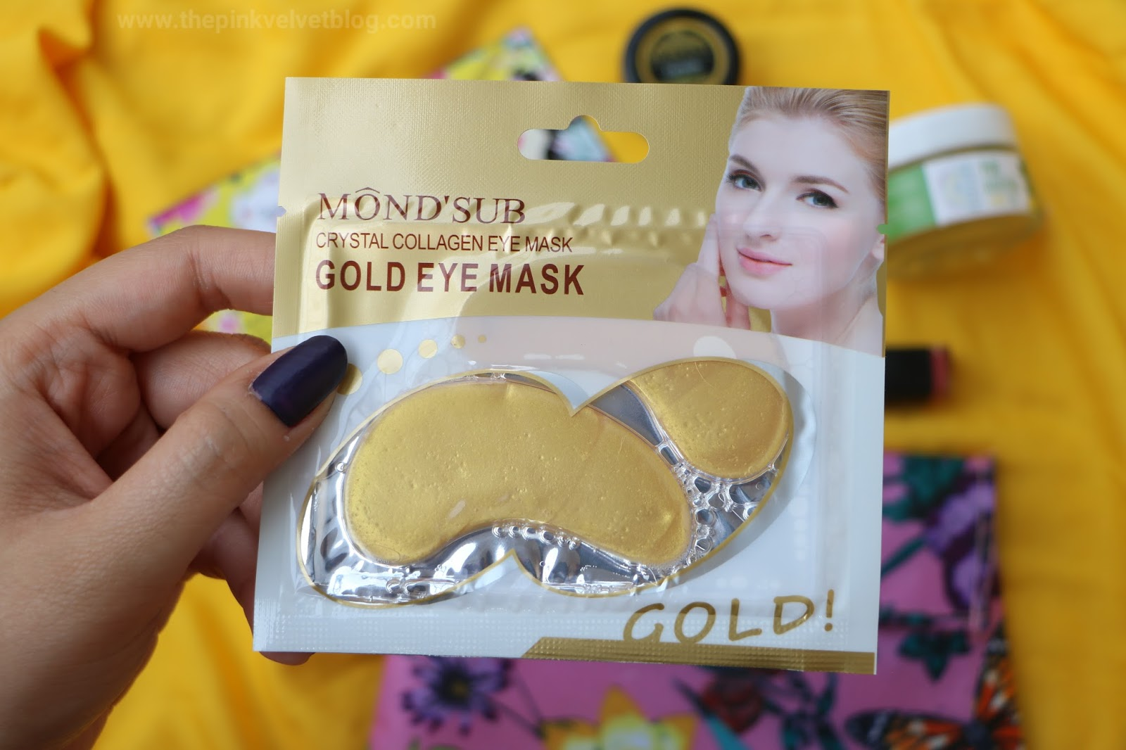"Mond'Sub Collagen Under Eye Mask - April 2018 ""The Spring Kissed"" Fab Bag"