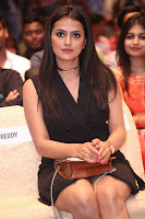 Actress Shraddha Srinath Stills in Black Short Dress at SIIMA Short Film Awards 2017 .COM 0061.JPG