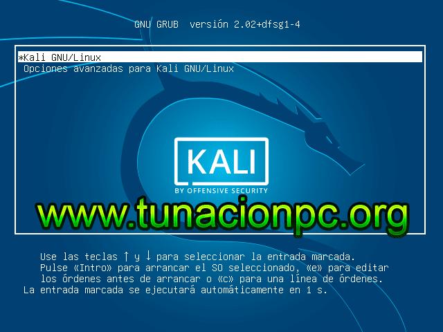 Descargar Kali Linux