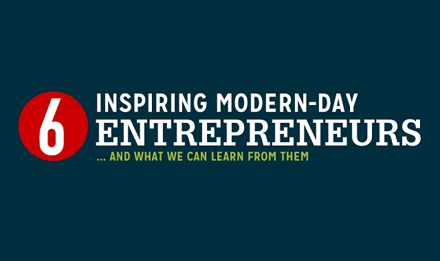 6 Inspiring Modern-Day Entrepreneurs and What We Can Learn From Them