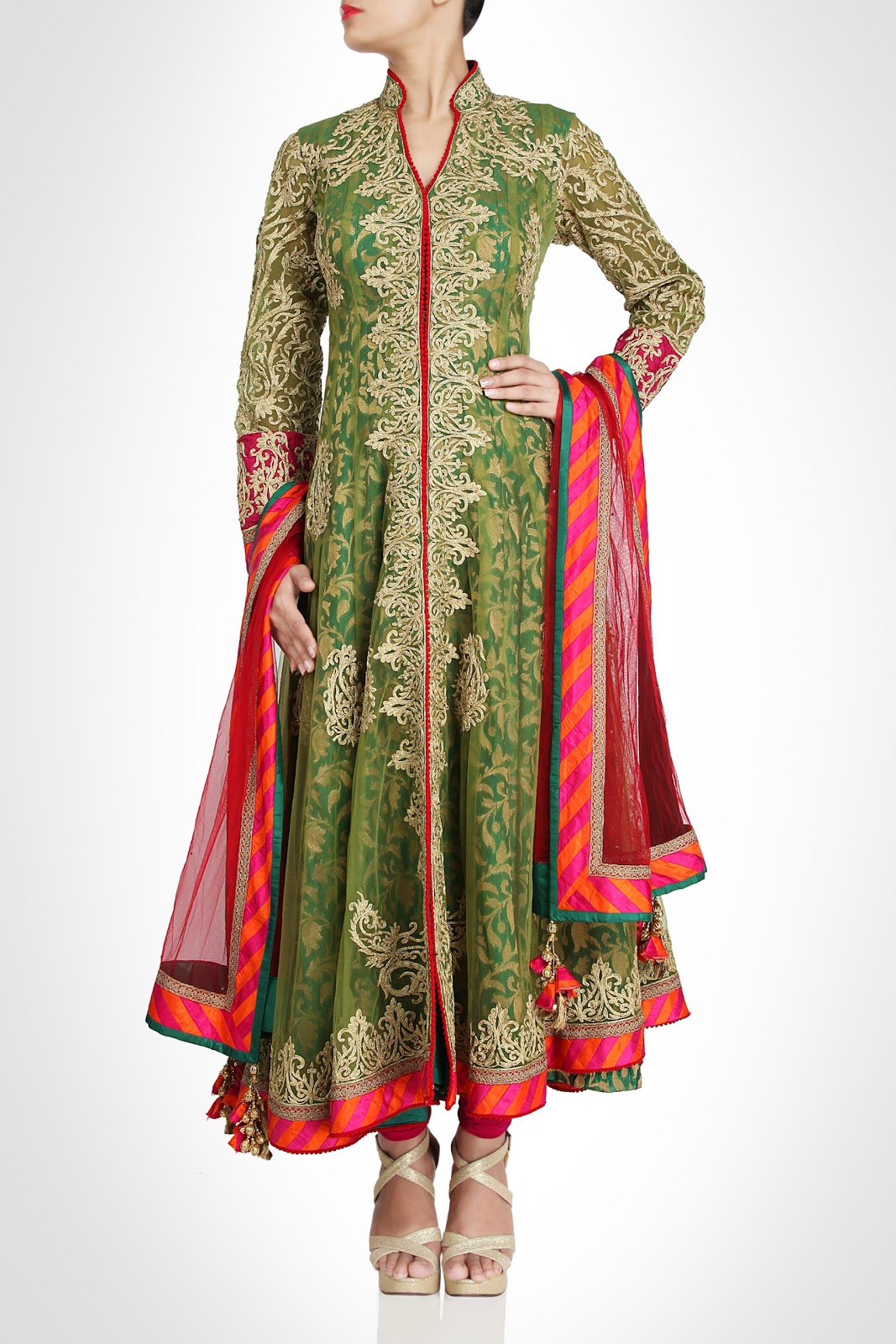 Indian Bridal Outfits 2013 by Rimple & Harpreet Narula ...