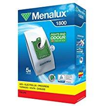 Menalux 1800 – Bolsas para aspiradores AEG, Electrolux y Philips