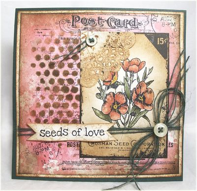 Stamps - Artistic Outpost Bloom and Grow, Ephemeral Backgrounds