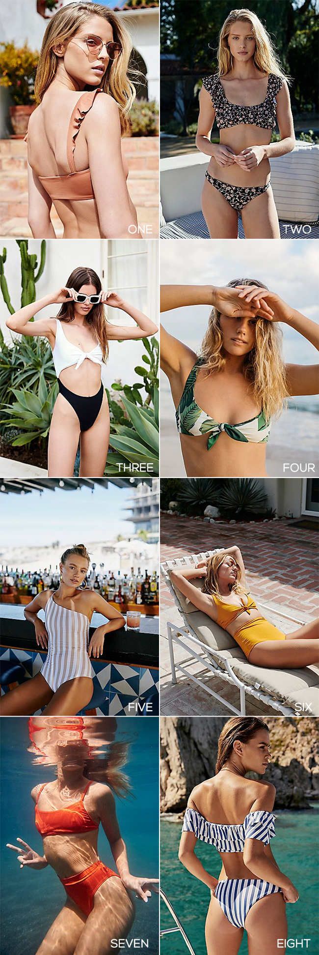 The 8 Perfect Swimsuits for Summer 2018