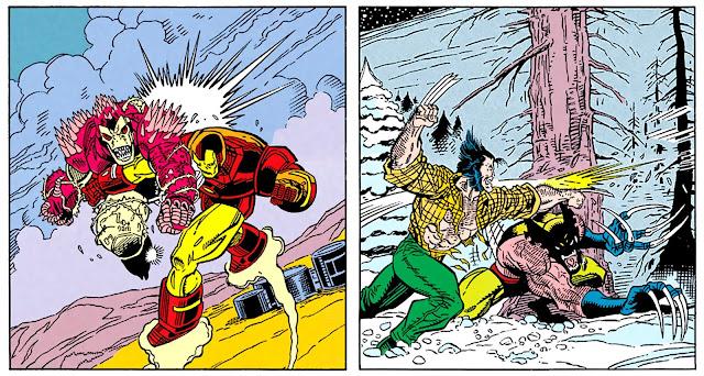 Ironman y Lobezno contra sus dobles