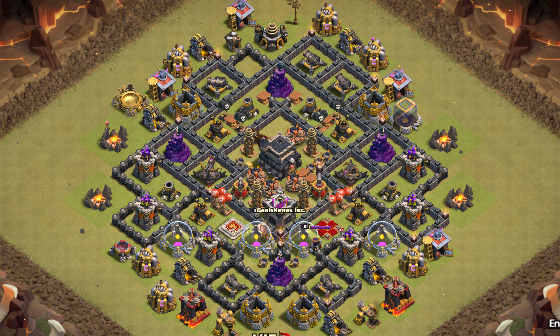 Base war th 9 terkuat anti 3 bintang terbaru