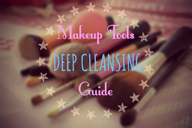 Deep Cleaning Makeup Tools the Right Way How to make your Beauty Blender spotless