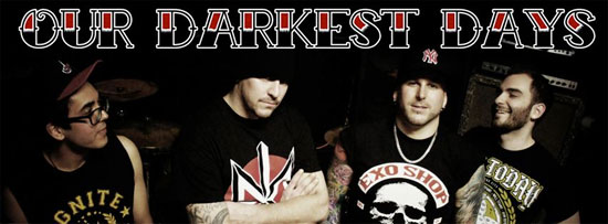 <center>Skatepunkers Exclusive: New Our Darkest Days song 'Time Has Come'</center>