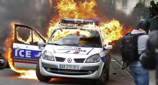 Manifestación en la capital francesa contra la violencia