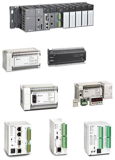 Delta AH500 and DVP Series Programmable Logic Controllers