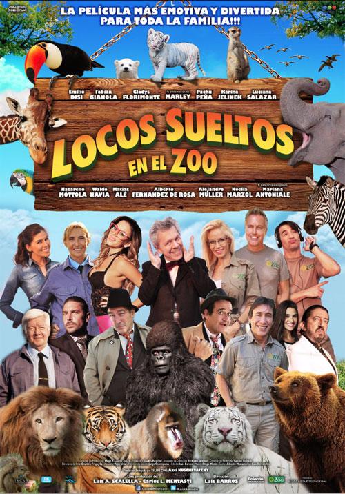Locos sueltos en el zoo (2015)