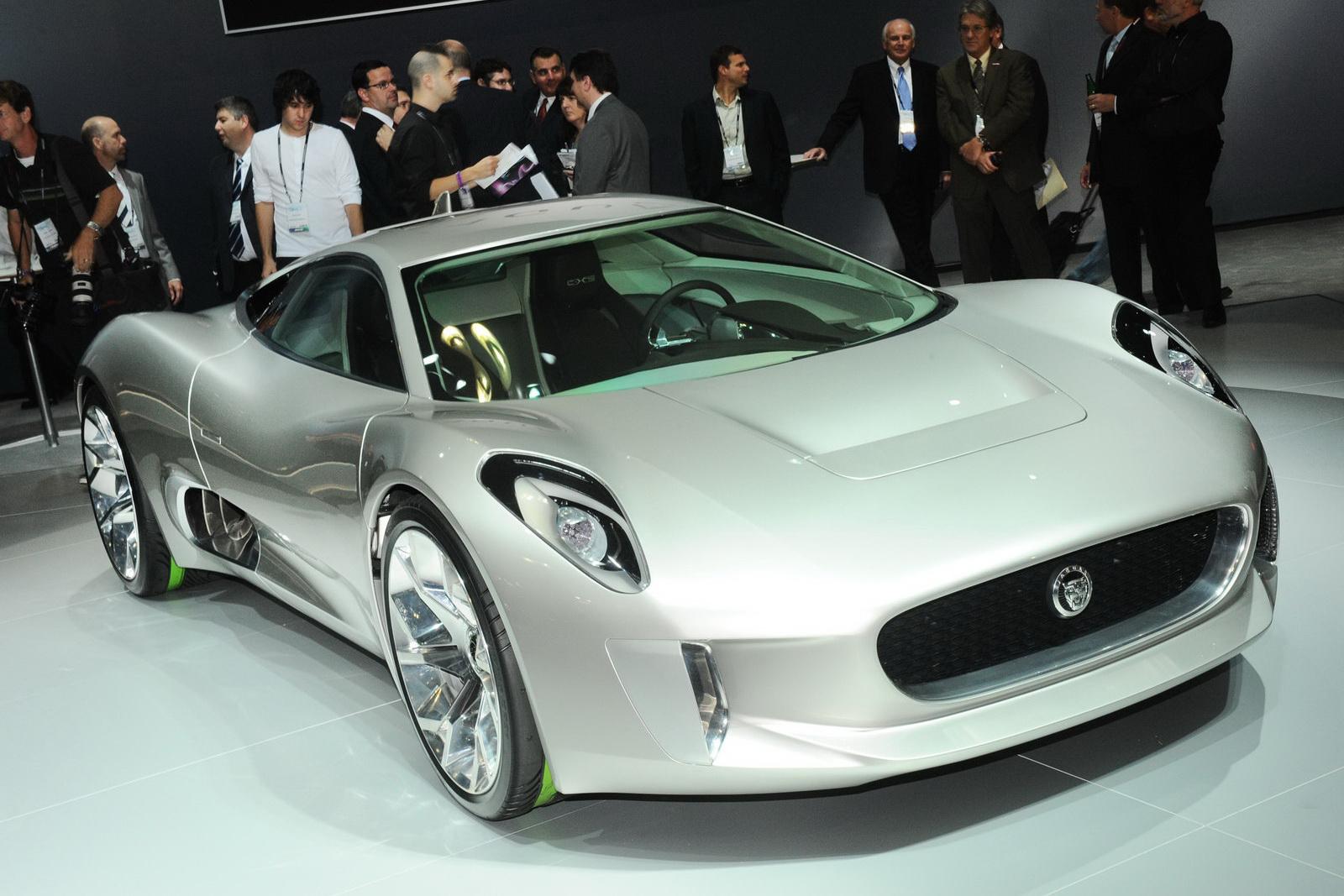 Sports Car World    Meet Your Desires: Jaguar C-X75 hybrid ...