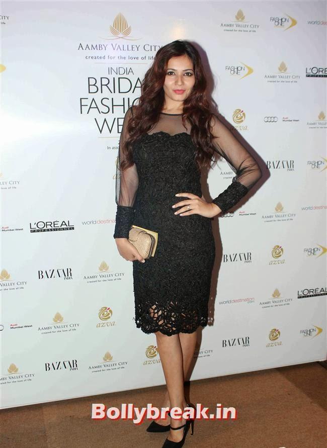 Shonali Nagrani, Bollywood Celebs at India Bridal Fashion Week