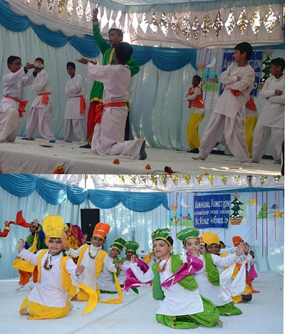Gyandeep Smart School Kids world celebrated Annual Cultural