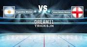 ARG-W vs ENG-W Dream11 Prediction | Women's FIH Pro League Match Preview | Fantasy Team, Team News
