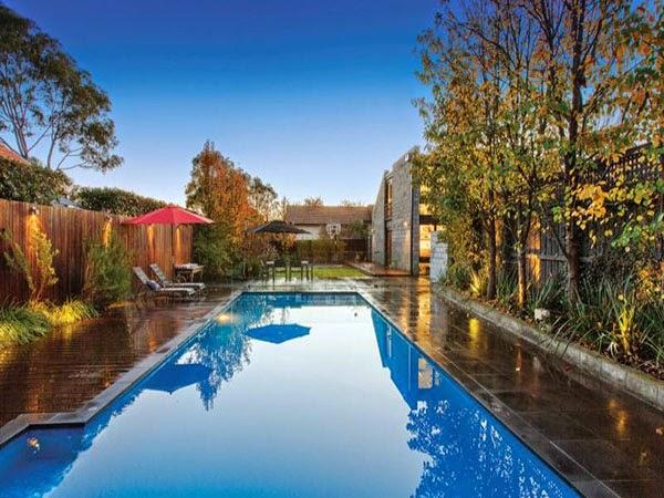 Contemporánea casa familiar en Melbourne Australia 8