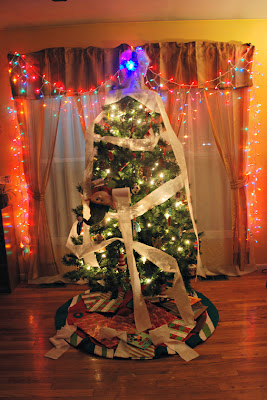 elf on the shelf advent bible study toilet paper tree