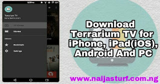 Terrarium TV for iPhone