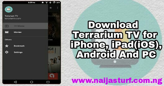 Download Terrarium TV For iPhone, iPad(iOS) Android And PC For Movie Series