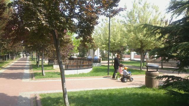 bursa yıldırım belediyesi parkı