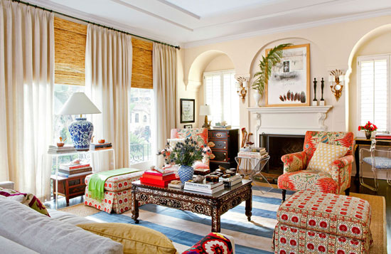TG interiors: Mixing Patterns in Decor