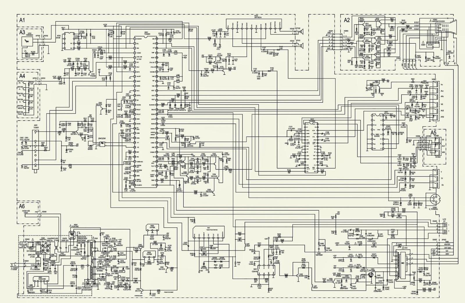 medium resolution of samsung crt tv circuit diagram samsung image colour tv circuit diagram the wiring diagram on samsung schematic j info