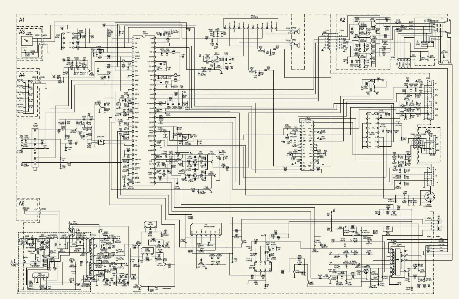 samsung crt tv circuit diagram samsung image colour tv circuit diagram the wiring diagram on samsung schematic j info [ 1600 x 1042 Pixel ]