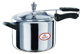 Bajaj Majesty Pressure Cooker with Inner Lid, 5 Litres for Rs.799 @ Amazon (Next Lowest Rs.1449)