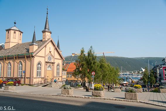 Catedral de nuestra señora de Tromso. Noruega