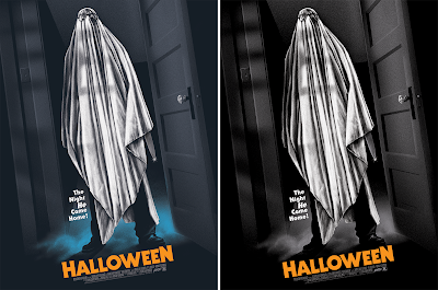 Halloween Movie Poster Screen Prints by Ghoulish Gary Pullin x Mondo