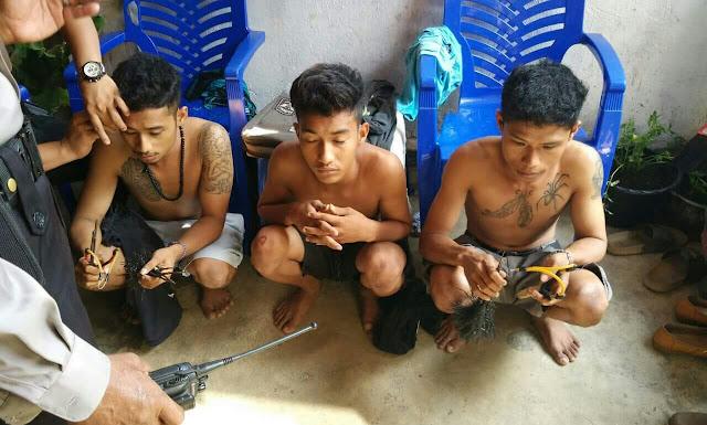 Diduga Terlibat Bentrok Antar Kelompok Pemuda, Tiga Orang Diciduk