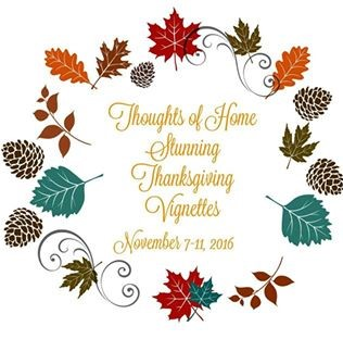 Blog hop - Fall/ Thanksgiving vignettes