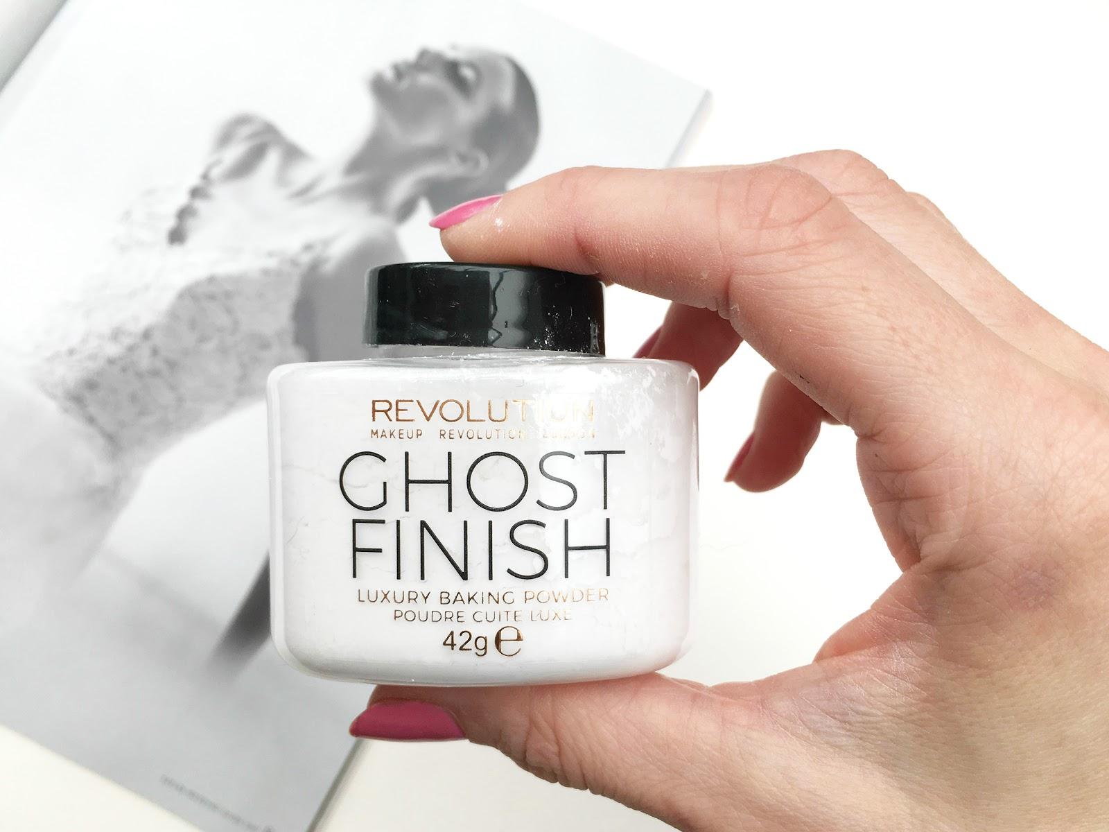 Makeup Revolution Baking Powder Ghost Finish, Makeup Revolution Baking Powder Ghost Finish review, Makeup
