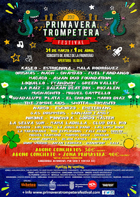 CARTEL DEFINITIVO PRIMAVERA TROMPETERA FESTIVAL 2017