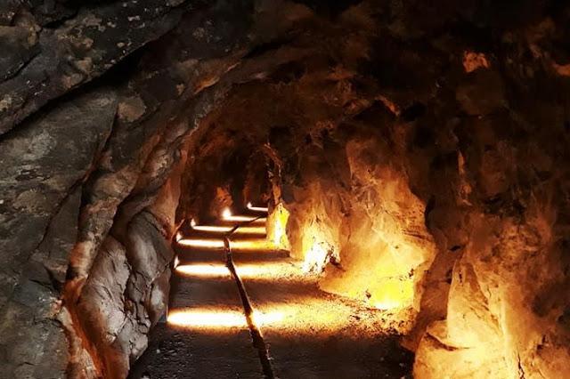 visitare una miniera con bambini