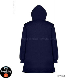 HJ2 HIJACKET BASIC JAKET MUSLIMAH Hijacket Navy x Turkish ORIGINAL PREMIUM FLEECE