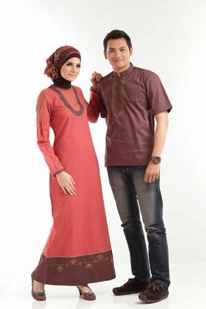 Contoh Gambar Model Baju Muslim Sarimbit Saat Ini