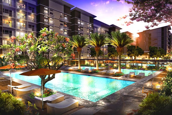 Affordable property listing of the philippines trees residences affordable condo in lagro for Swimming pool in novaliches area