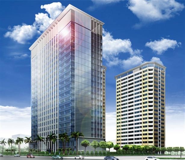 Phối cảnh dự án chung cư Vinata Towers
