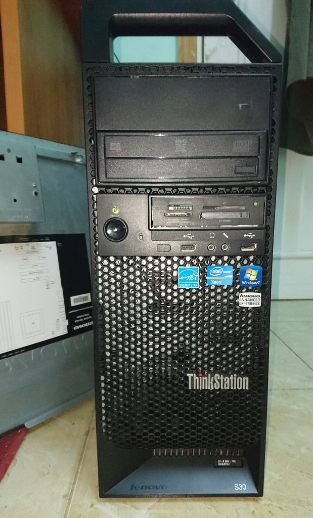Lenovo ThinkStation D30 Bitland LAN Last