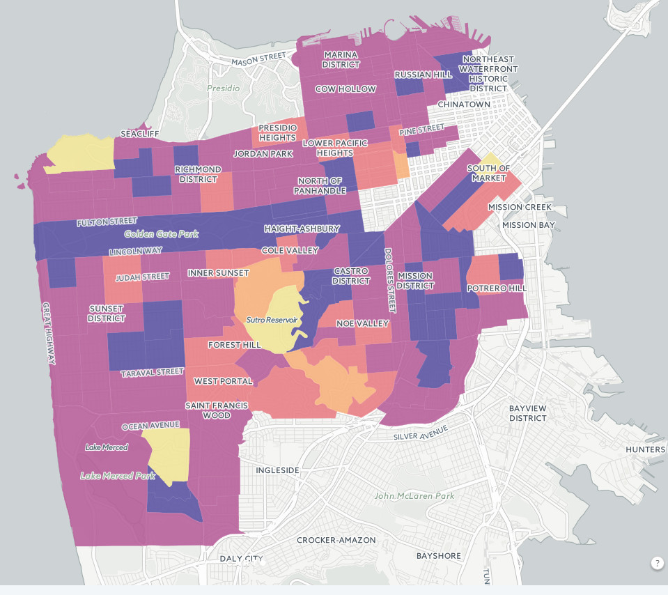 Evictions in San Francisco (2016)