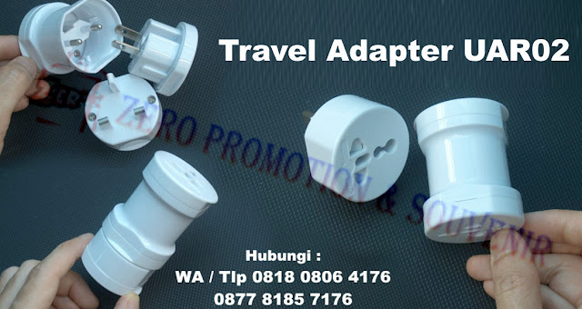 Jual Universal Travel Adapter Promosi - Travel Adapter UAR02