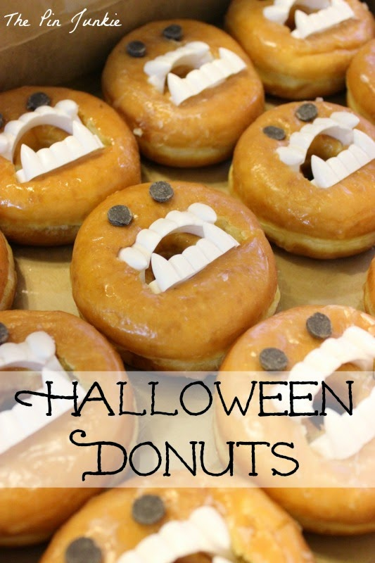 Monster Donuts Halloween Food
