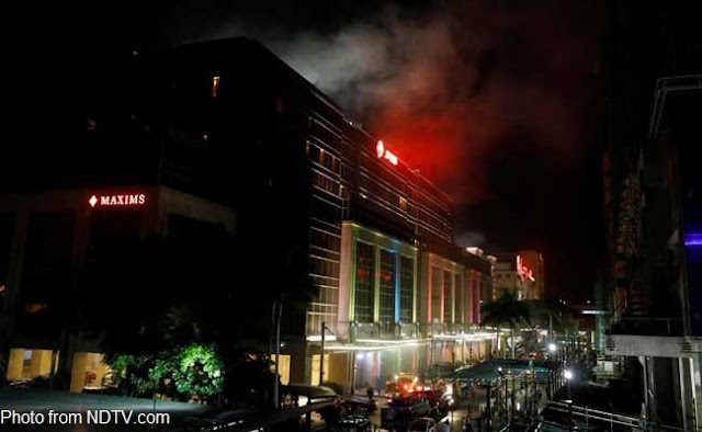 Shooting and robbing incident in Resorts World Manila on Thursday night, Gunman killed himself