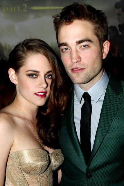 Foto de Kristen Stewart muy hermosa junto a Robert Pattinson