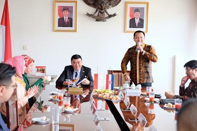Sjahroedin dan Ridho Ficardo Kompak Promosikan Lampung di Kroasia