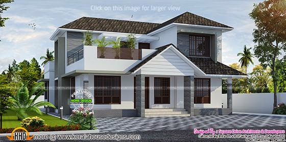 Proposed house in Cherthala