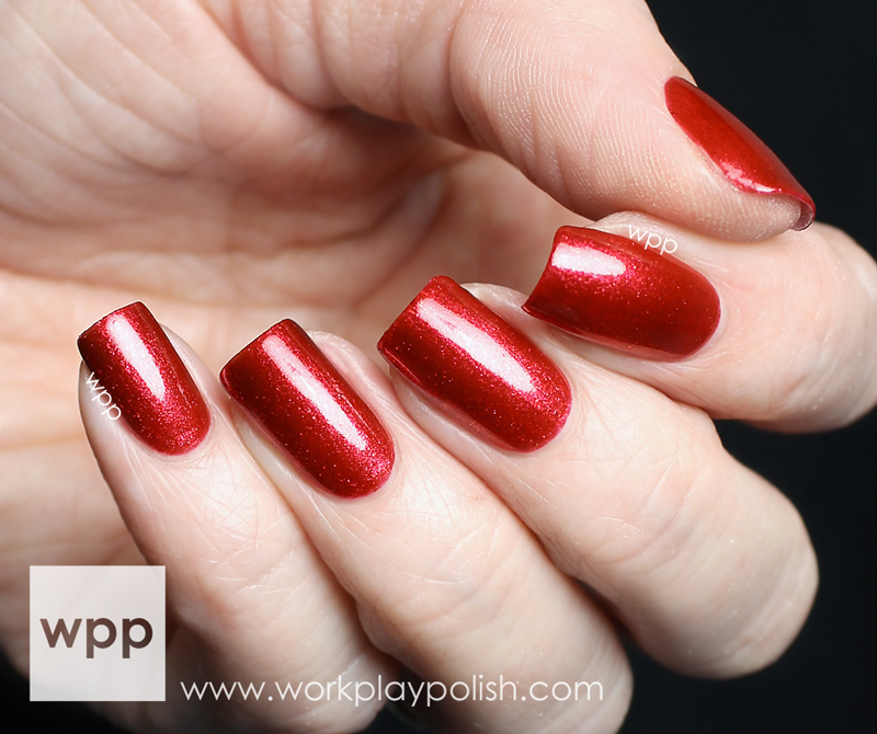 China Glaze Just Be-Clause from the 2013 Happy HoliGlaze Collection
