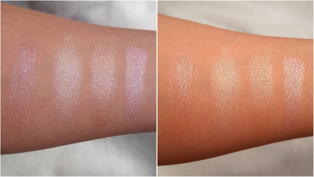 Sleek Solstice palette swatches