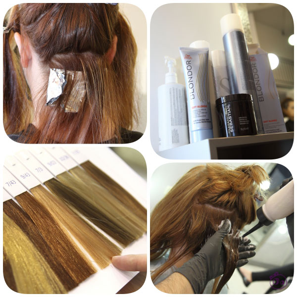 mechas baby lights wella en peluqueria mode madrid